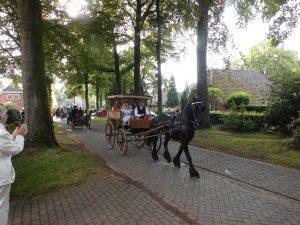Paardenvierdaagse komt langs de woning